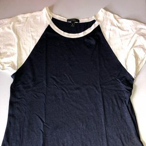 J. Crew Silk-like T-shirt